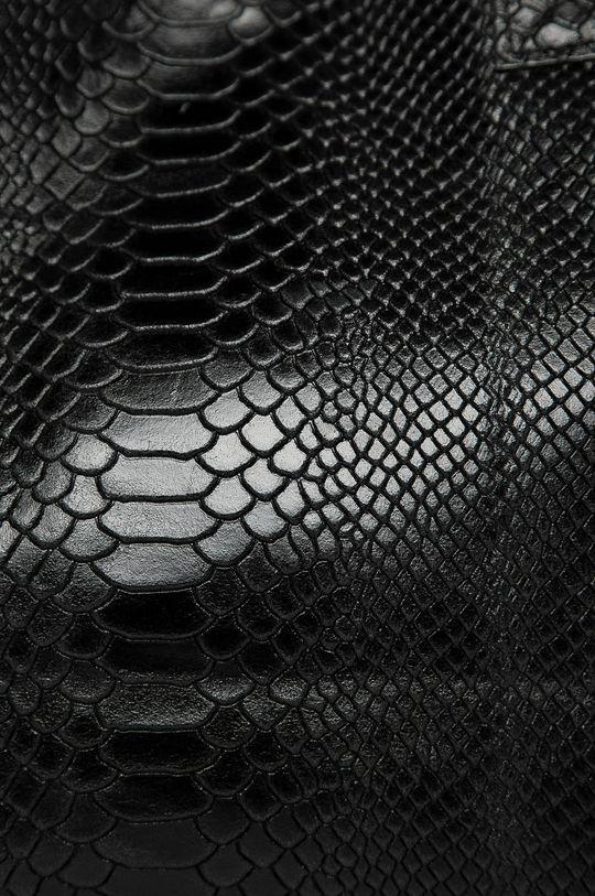 czarny Answear Lab - Torebka skórzana
