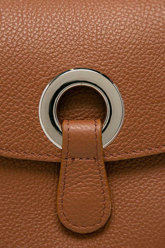 Answear Lab - Poseta de piele maro auriu
