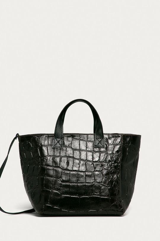 maro inchis Answear Lab - Poseta de piele De femei