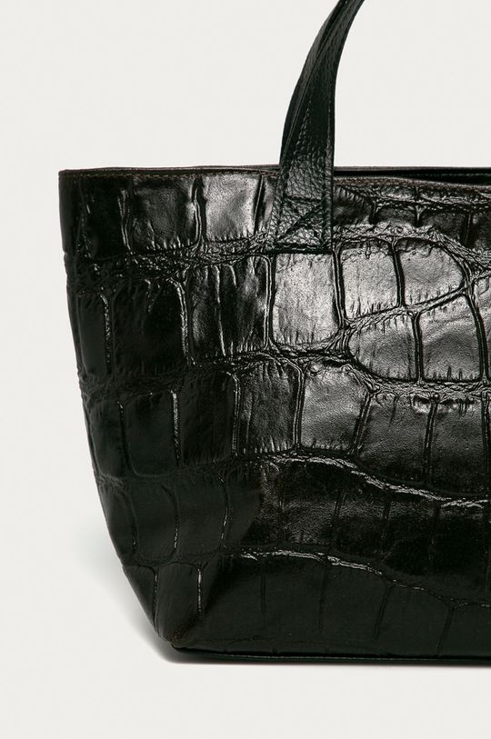 maro inchis Answear Lab - Poseta de piele