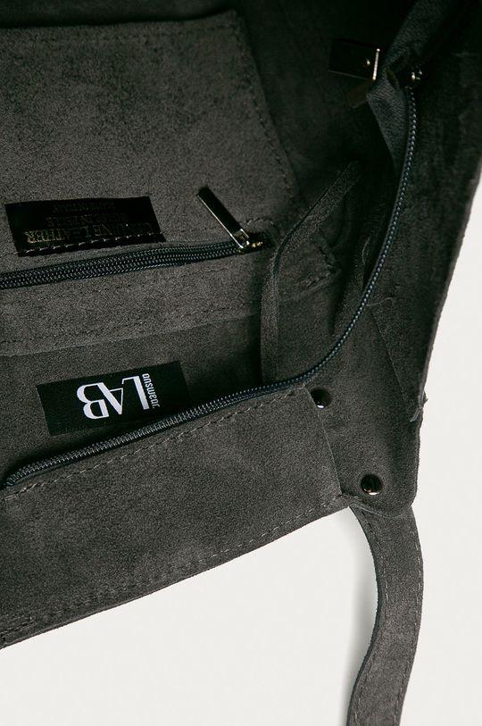 sivá Answear Lab - Semišová kabelka