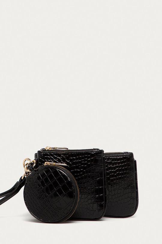 černá Answear Lab - Kabelka (3-pack) Dámský
