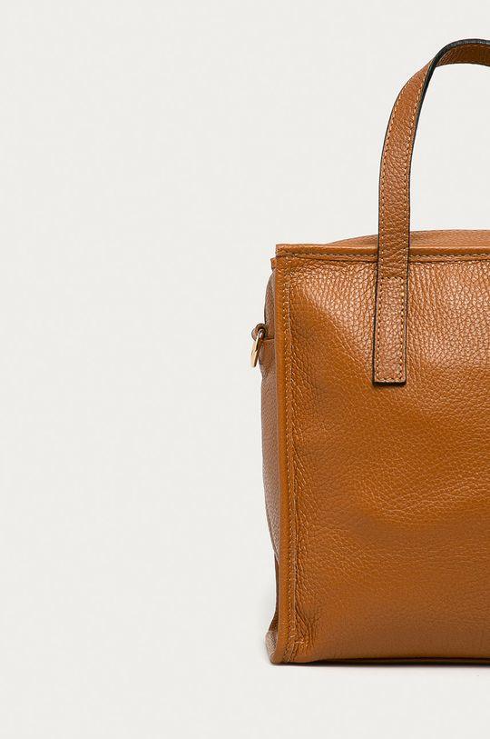 Answear Lab - Kožená kabelka <p>  100% Prírodná koža</p>