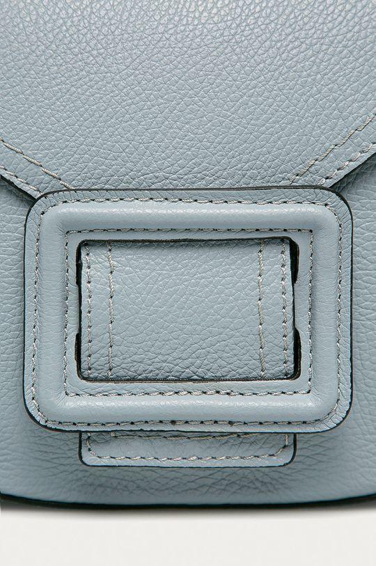 Answear Lab - Kožená kabelka modrá