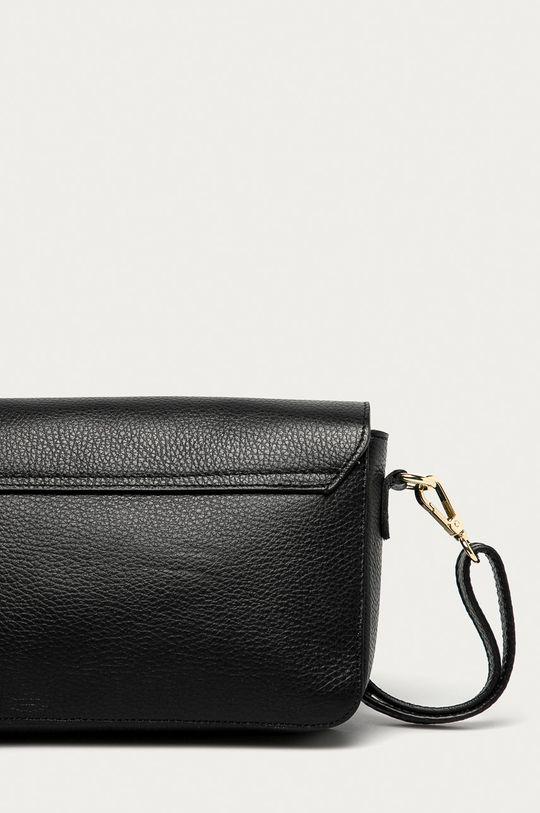 černá Answear Lab - Kožená kabelka z narozeninové kolekce