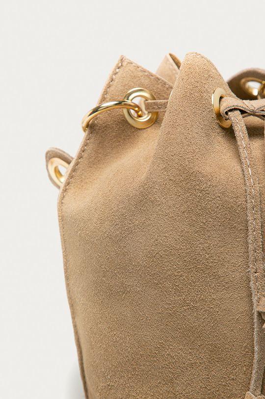 Answear Lab - Semišová kabelka béžová