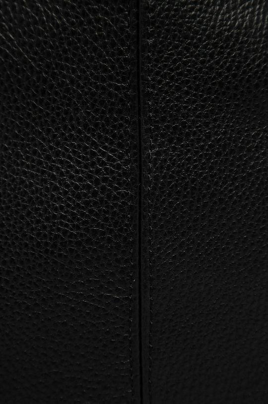 Answear Lab - Torebka skórzana czarny