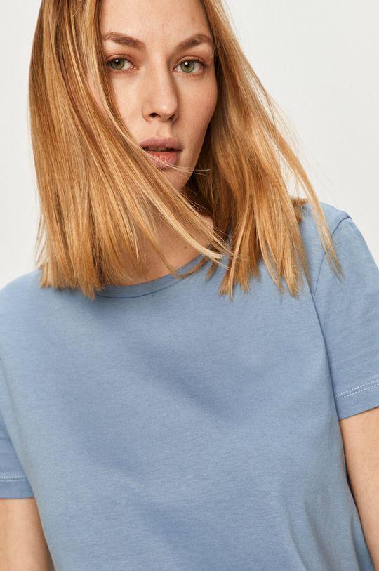 modrá Answear Lab - Tričko