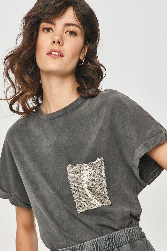 gri Answear Lab - Tricou De femei