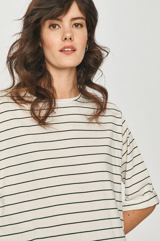 alb Answear Lab - Tricou