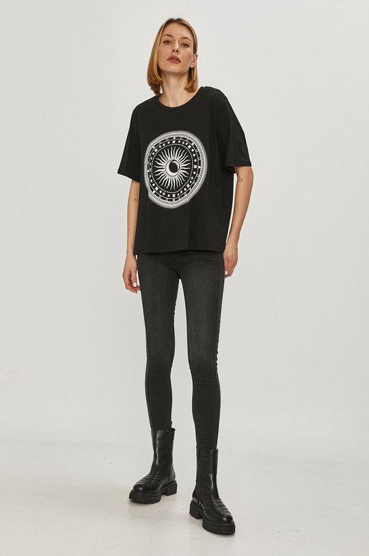 Answear Lab - Tričko černá