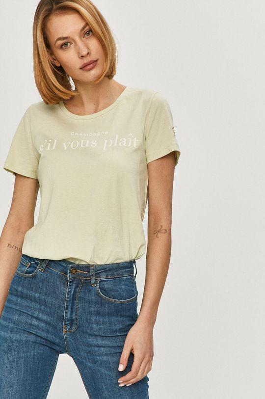 miętowy Answear Lab - T-shirt