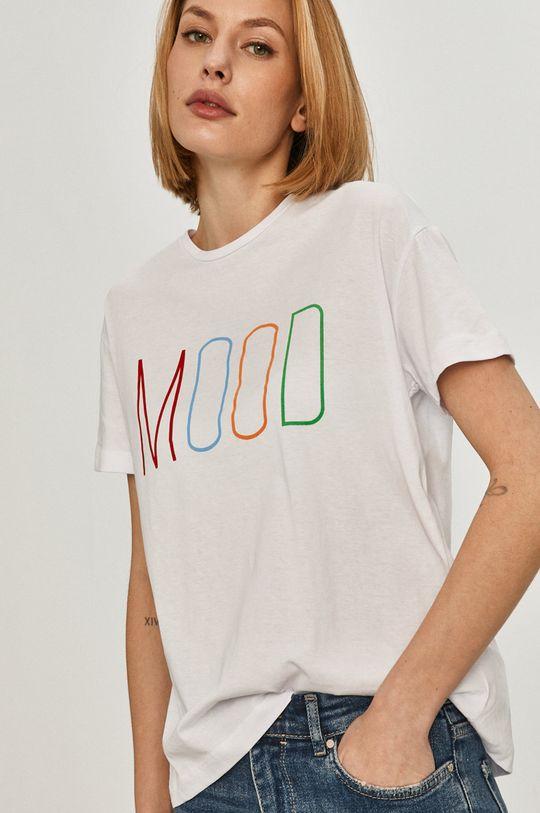 bílá Answear Lab - Tričko