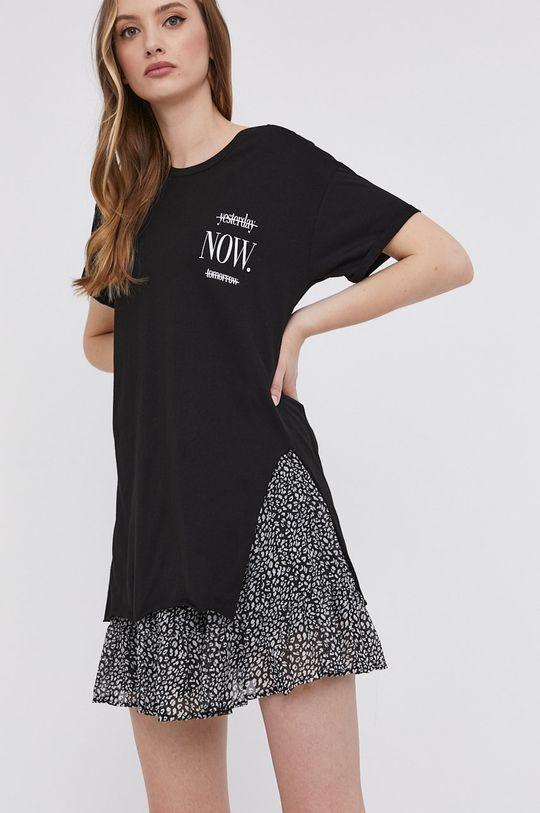 czarny Answear Lab - T-shirt