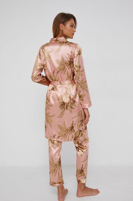pastelově růžová Answear Lab - Sada 3dílného pyžama