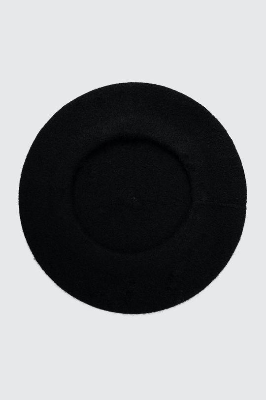 Answear Lab - Beret wełniany czarny