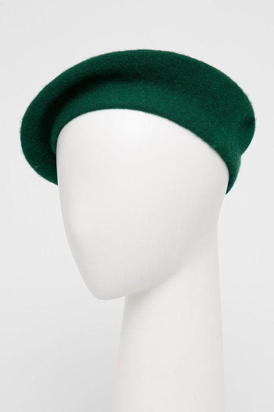 zielony Answear Lab - Beret wełniany Damski