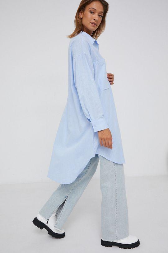 modrá Answear Lab - Bavlněná košile Dámský