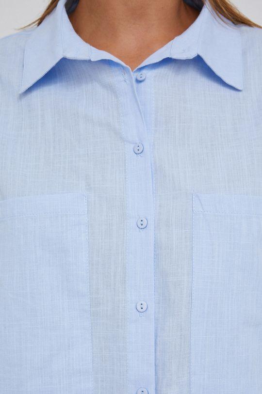 Answear Lab - Bavlněná košile modrá