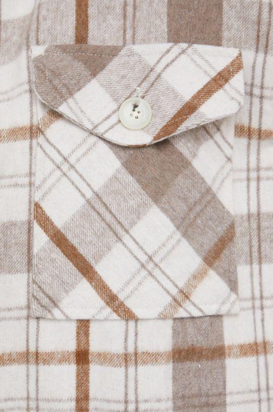 beżowy Answear Lab - Koszula