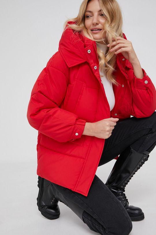 czerwony Answear Lab - Kurtka Damski