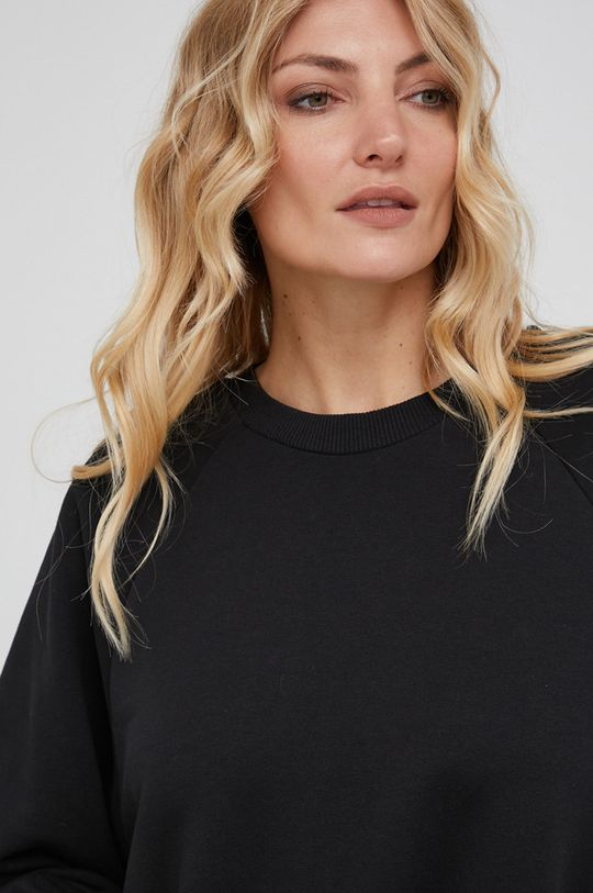 czarny Answear Lab - Sukienka bawełniana