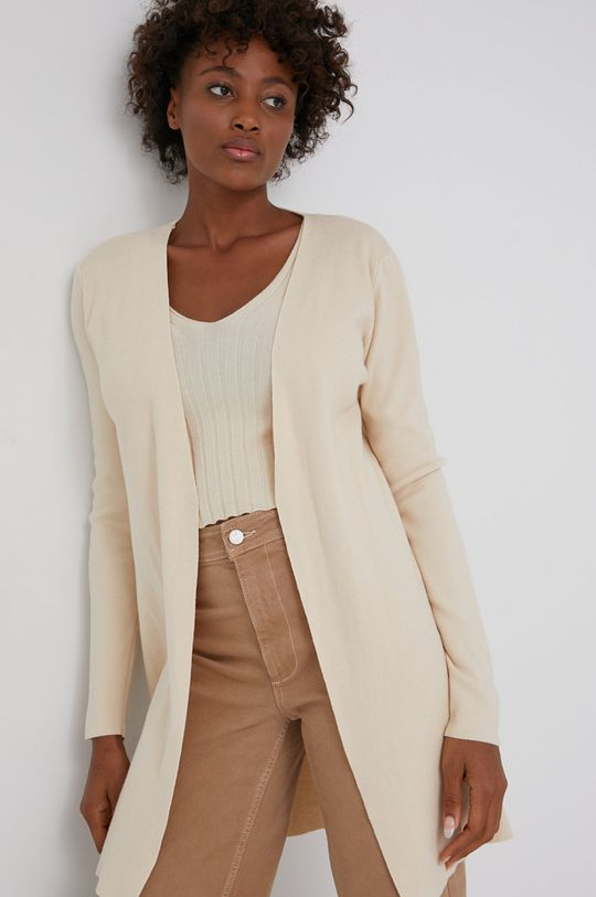 bej Answear Lab - Cardigan cu top De femei