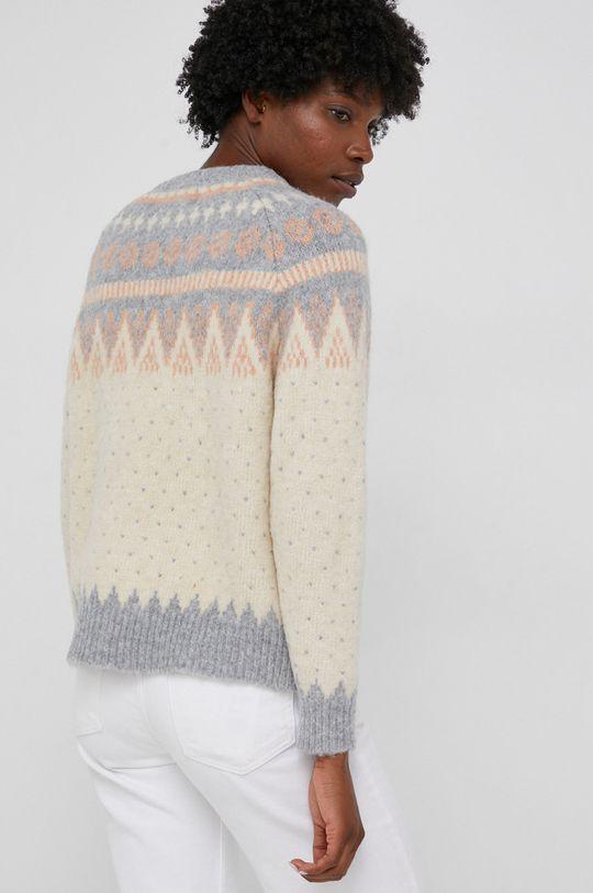 Answear Lab - Sweter z domieszką wełny 60 % Akryl, 3 % Elastan, 30 % Poliamid, 7 % Wełna