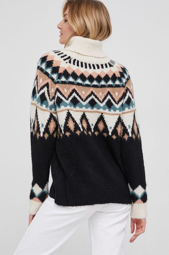 Answear Lab - Sweter z domieszką wełny 45 % Akryl, 5 % Elastan, 28 % Poliamid, 12 % Poliester, 10 % Wełna