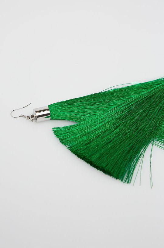 Answear - Náušnice zelená