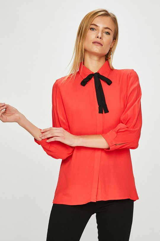 červená Answear - Košeľa Dámsky