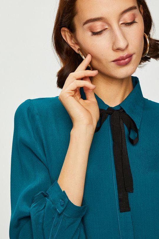 Answear - Košeľa tyrkysová modrá