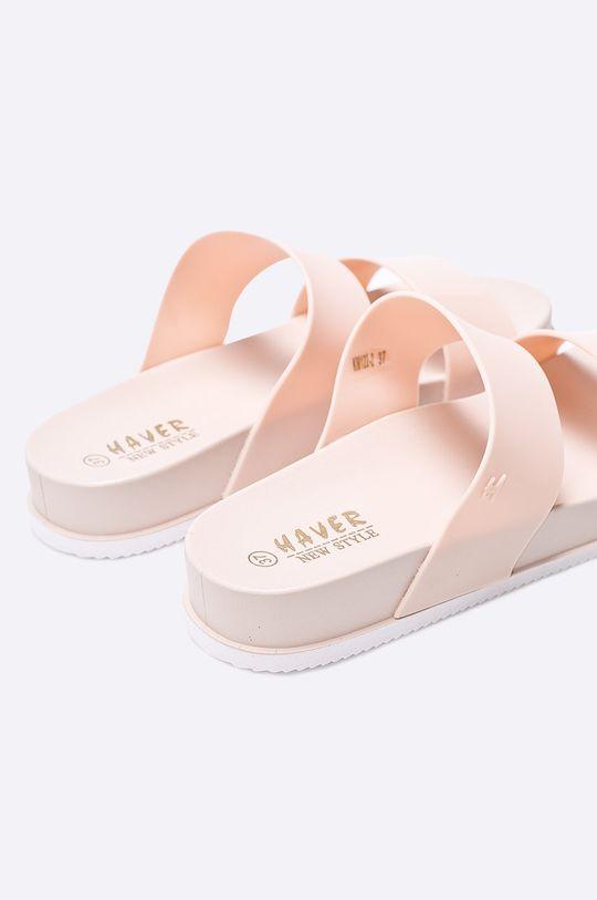 ružová Answear - Šľapky Haver