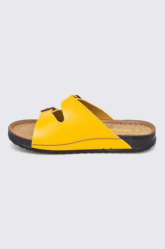 Answear - Šľapky Hit Shoes <p>Syntetická látka</p>