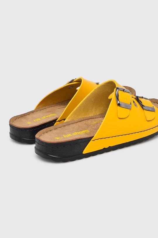 žltá Answear - Šľapky Hit Shoes