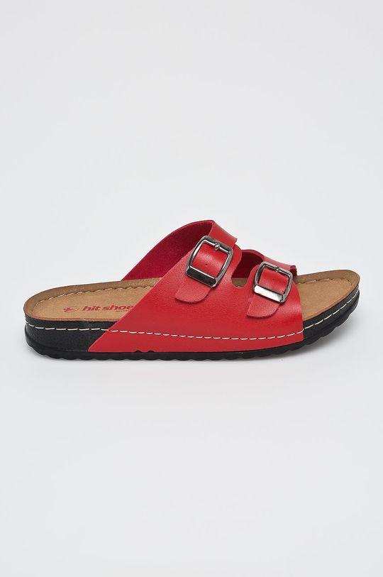 červená Answear - Šľapky Hit Shoes Dámsky