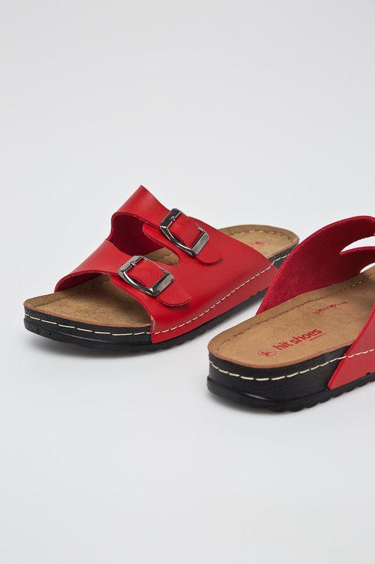 červená Answear - Šľapky Hit Shoes