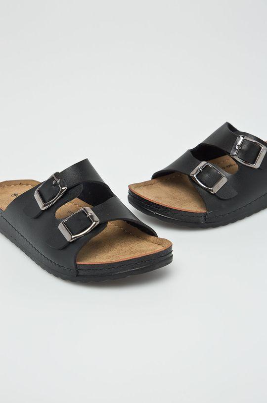 Answear - Šľapky Hit Shoes čierna