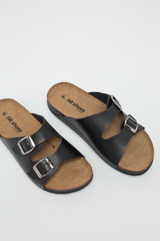 čierna Answear - Šľapky Hit Shoes