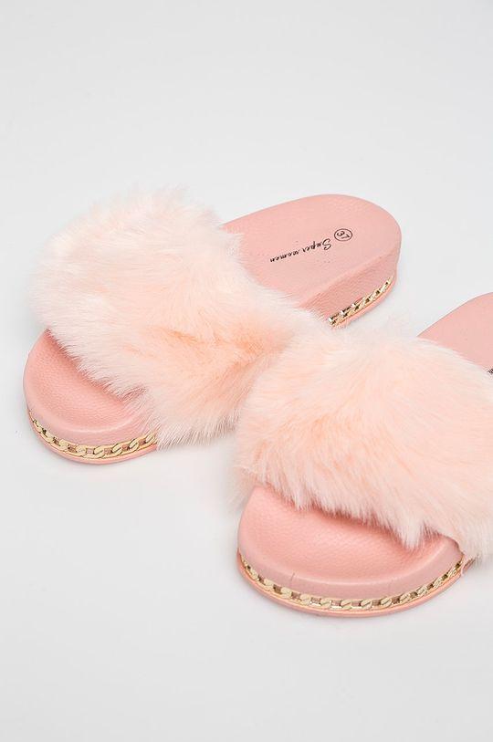 ružová Answear - Šľapky Super Women