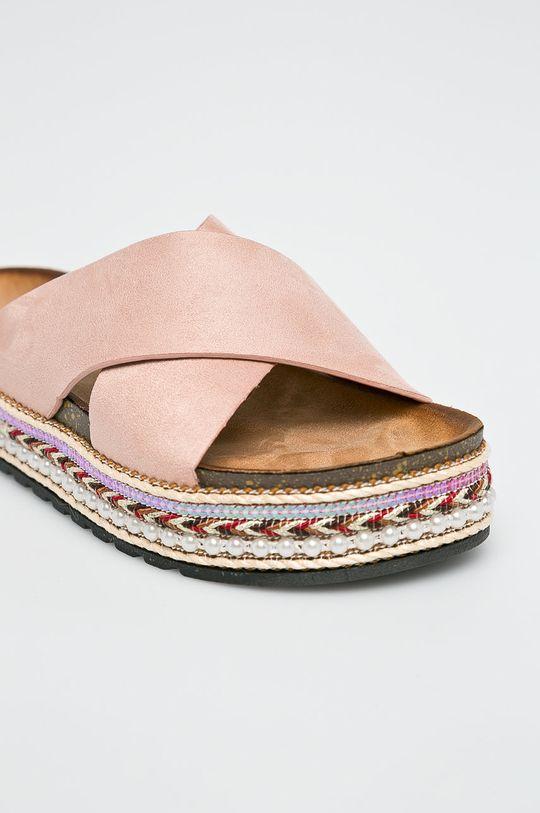 Answear - Šľapky Lisa <p>Zvršok: Textil Vnútro: Textil Podrážka: Syntetická látka</p>
