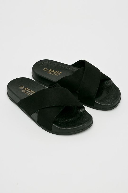 Answear - Šľapky Haver čierna