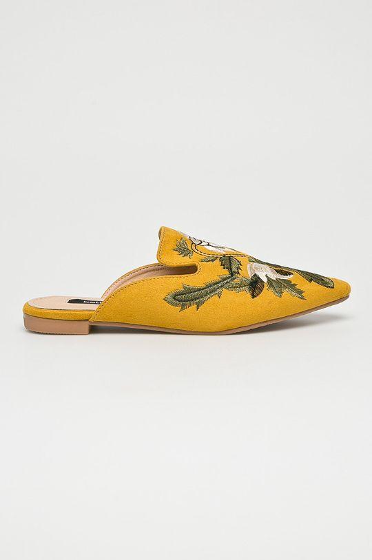 žltá Answear - Šľapky Betler Dámsky