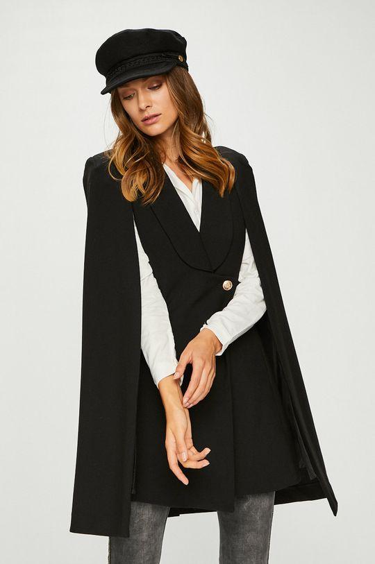 čierna Answear – Kabát Dámsky