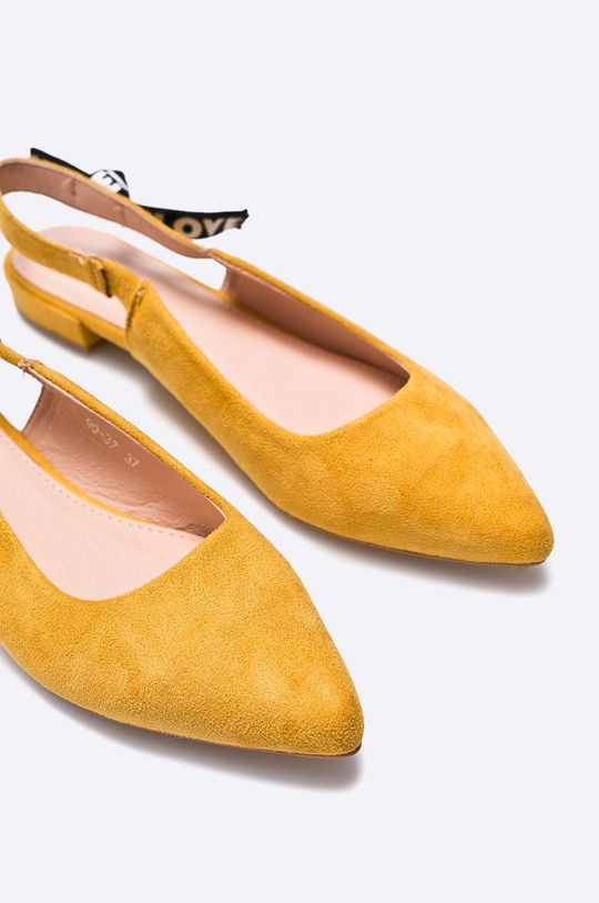 Answear - Baleríny žltá