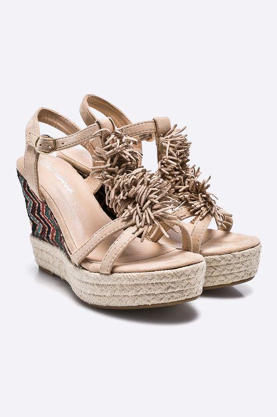 Answear - Sandále Girlbood béžová
