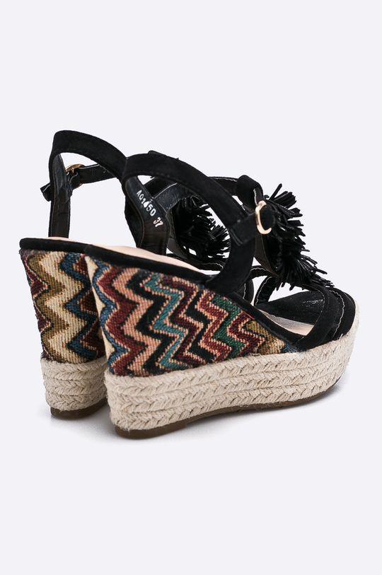 čierna Answear - Sandále Girlbood