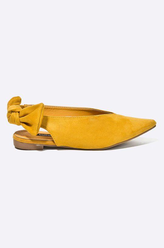 žltá Answear - Baleríny Better Dámsky