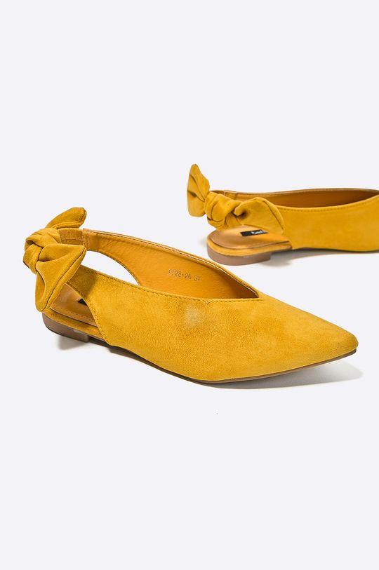 Answear - Baleríny Better žltá