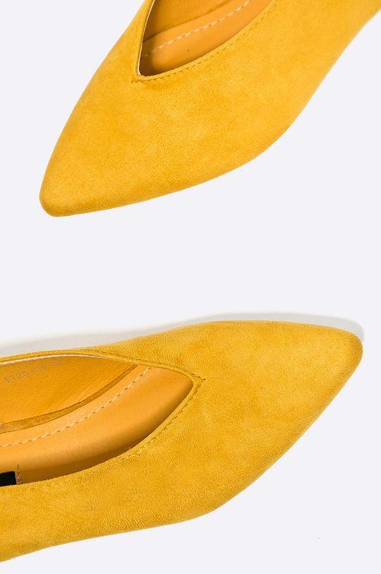 žltá Answear - Baleríny Better